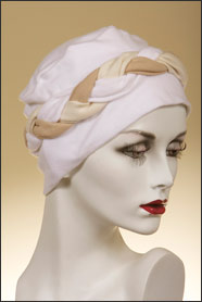 Almond Braid Sleep Cap