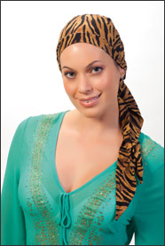 Tiger head wrap