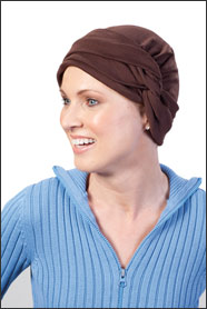 Ginger Brown head wrap
