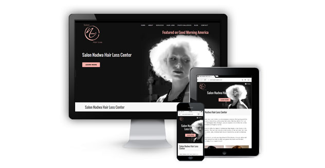 Salon Nadwa and Hair Loss Center Launches New Website